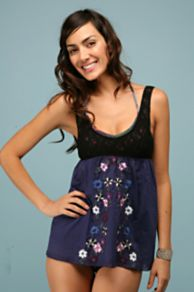Free People Clothing Boutique > Sweet Petunia Cami :  shirt hippie style bohemian style petunia