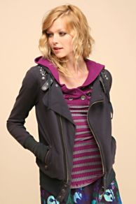 Free People Clothing Boutique > Motorcycle Hoodie :  fashion sweatshirt motorcycle free people
