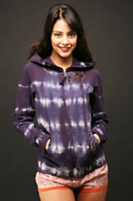 Free People Clothing Boutique > Slinker Tie Dye Hoodie :  blue hoody tie dyed free people