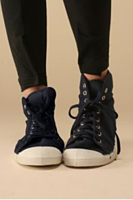 Free People Clothing Boutique > Bensimon Midtop :  sneakers lace up shoes womens
