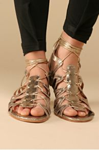 Free People Clothing Boutique > Naomi Lace Up Sandal :  sandal gladiators sandals shoe