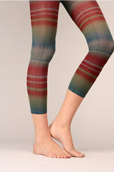 Free People Clothing Boutique > Rainbow Fade Footless Tights :  hoisery free rainbow people