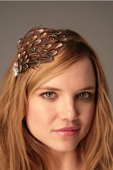Free People Clothing Boutique > Feather Flapper Headband from freepeople.com