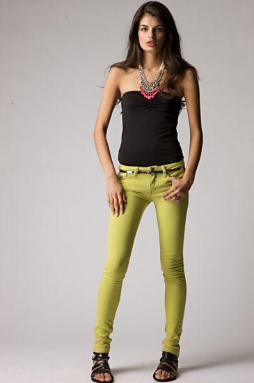 Phoenix Skinny Jean By Desert Blue  :  electric city designer skinny jean bustier
