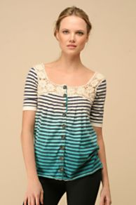 Free People Clothing Boutique > We The Free Sailor's Girl Cardigan :  womens free people pleats gray