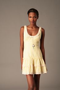 Free People Clothing Boutique > Eyelet Tennis Dress from freepeople.com