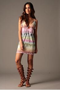 Free People Clothing Boutique > Leila Feather Cover Up :  jersey dress dresses cover up