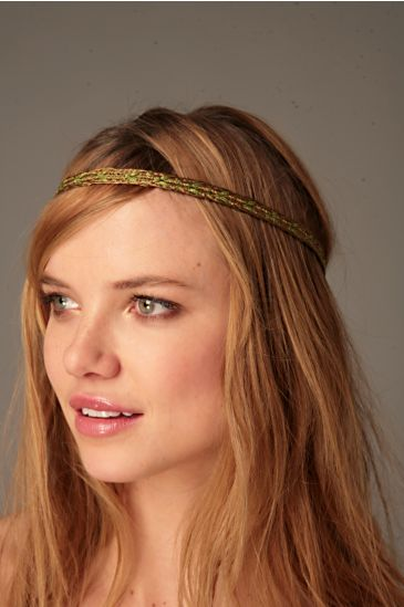 Free People Clothing Boutique > Tassel Braid Headband :  headband headwrap hair hairband