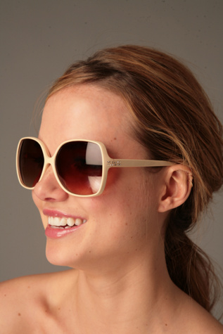 Free People Clothing Boutique > Yasmine Sunglasses :  eyewear rhinestone embellished free people