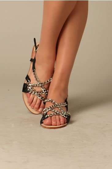 Free People Clothing Boutique > Stanton Chain Sandal from freepeople.com