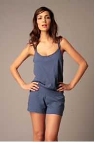 Free People Clothing Boutique > Sunshine Coast Romper :  romper shortall orange free people