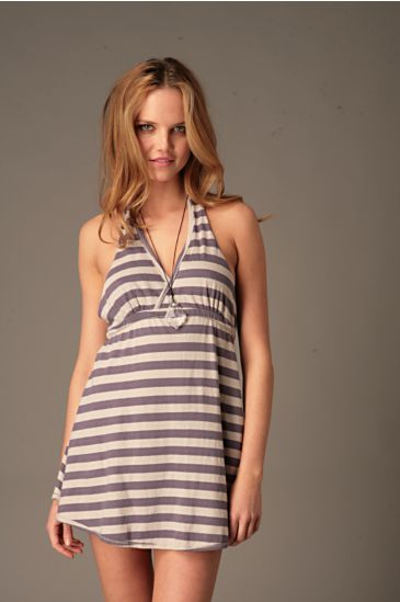 Free People Clothing Boutique > Striped Halter Dress :  striped halter dress free people womens clothing