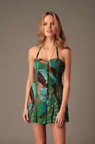 Free People Clothing Boutique > Grafitti Peacock Romper :  spring summer grafitti shortall