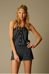 Free People Clothing Boutique > We The Free Halter Romper :  stylish design designer short