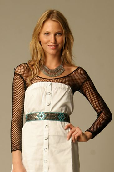 Fishnet Layering Top