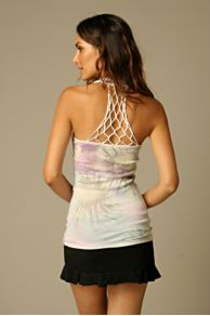 Free People Clothing Boutique > Printed Dreamweaver Tank :  fashion top tunic white