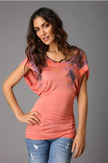 Free People Clothing Boutique > Urban Artist Tee 		 :  more colors batwing