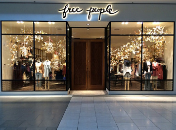 Santa Anita Mall Free People Store Arcadia Ca
