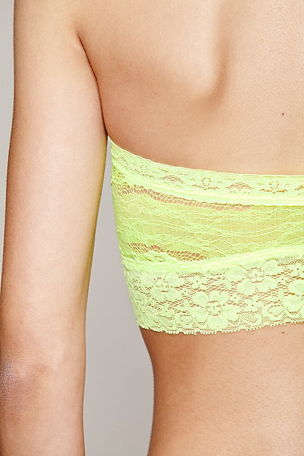 Slide View 4: Lace Trim Bandeau