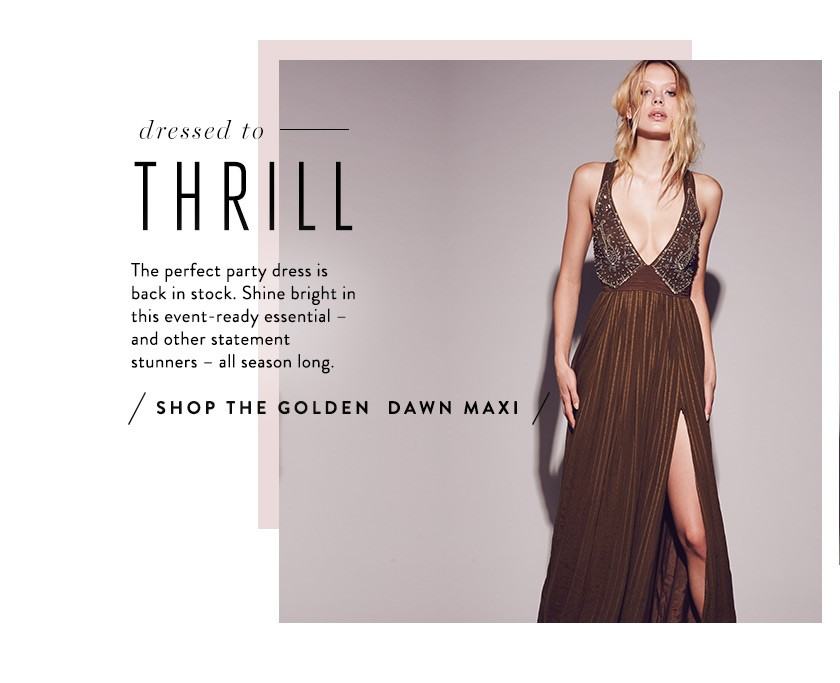 Shop the Golden Dawn Maxi at Free People