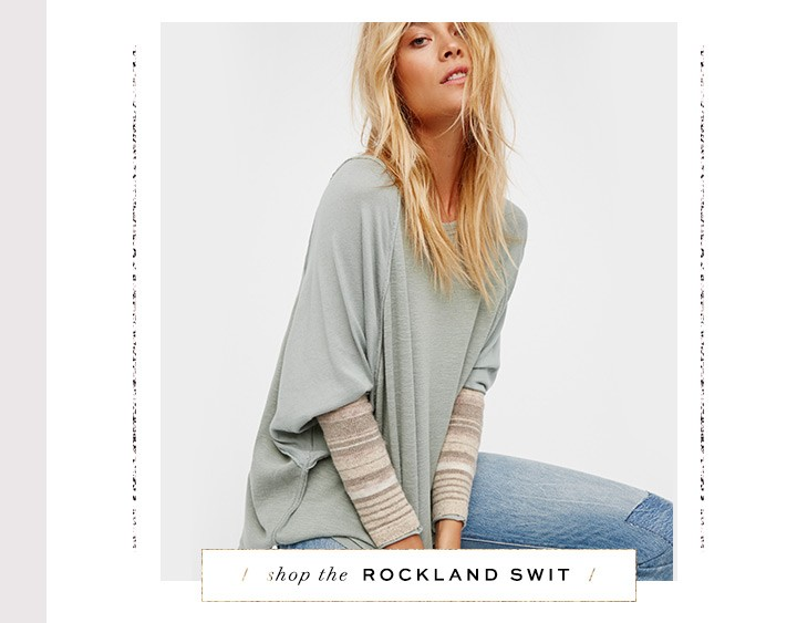 Shop the Rockland Swit Top at Free People