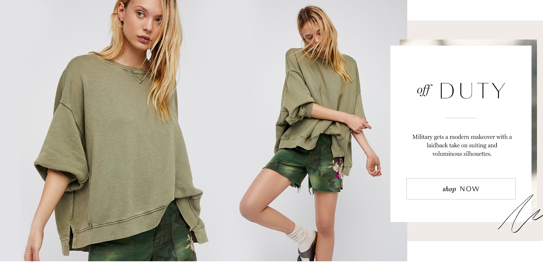 Shop the Off Duty Trend at Free People
