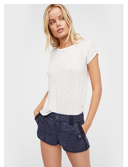 Shop the Itsy Bitsy Military Short at Free People