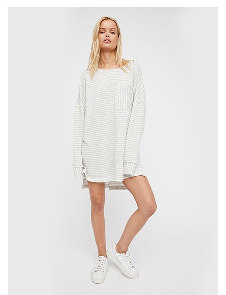 Shop the Cloudy Stripe Pullover at Free People