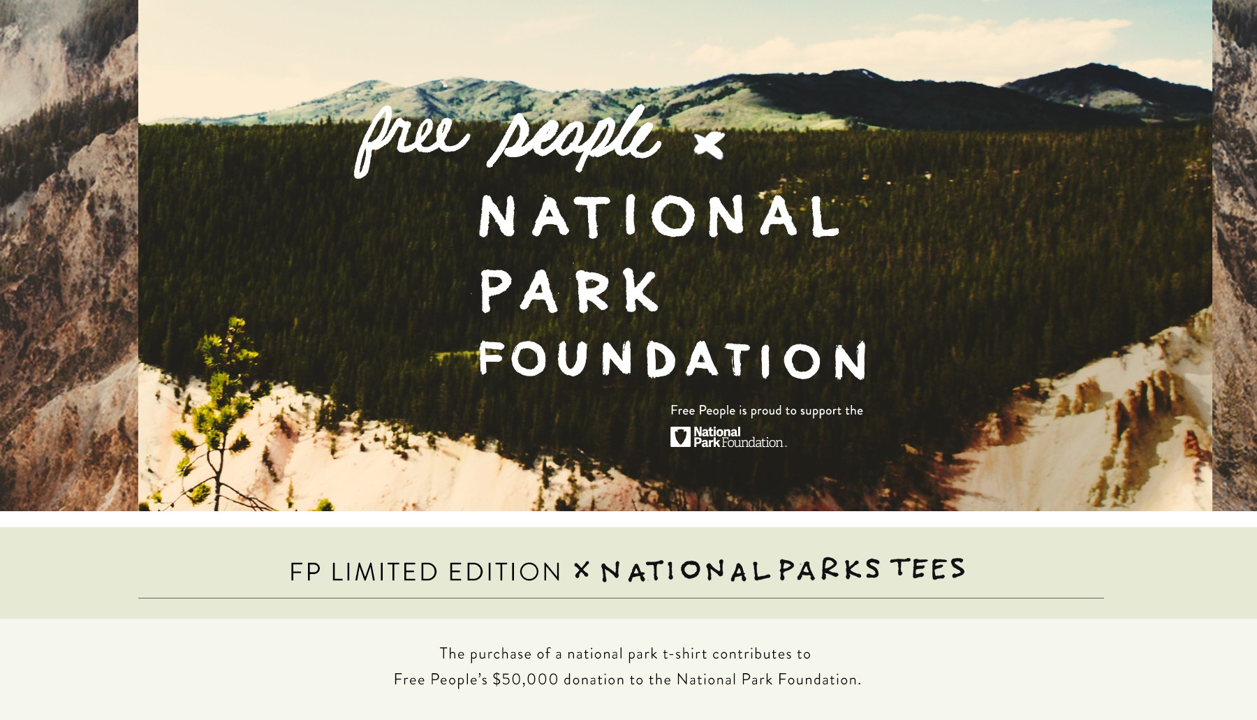Free People x National Parks Foundation