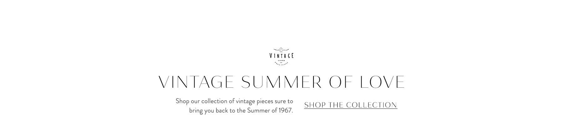 Shop the Vintage Summer of Love Lookbook