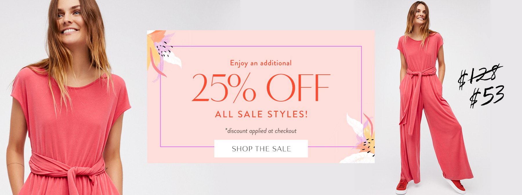 25% Off All Sale Styles at Free People