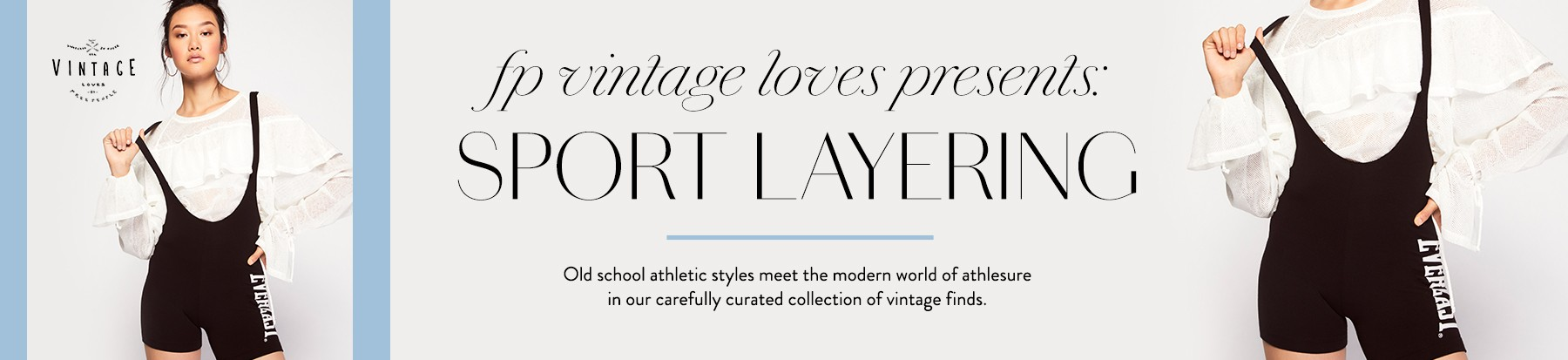 FP Vintage Loves Sporty Layering Trend