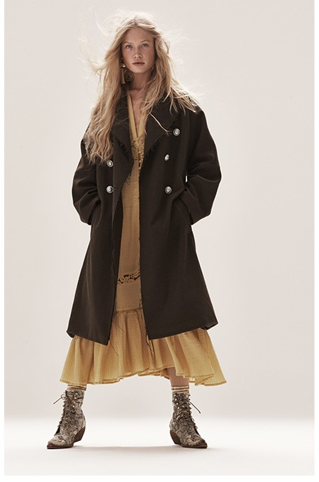 Shop the Slouchy Wool Coat