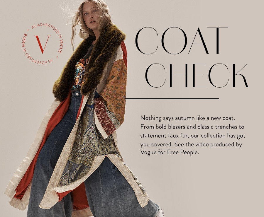 See the Coach Check Video produced by Vogue with Free People