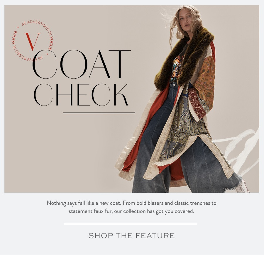 Shop the Coat Check Lookbook