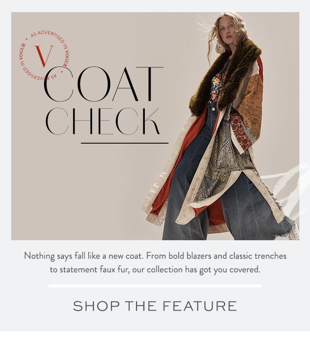 Shop the Coat Check Lookbook