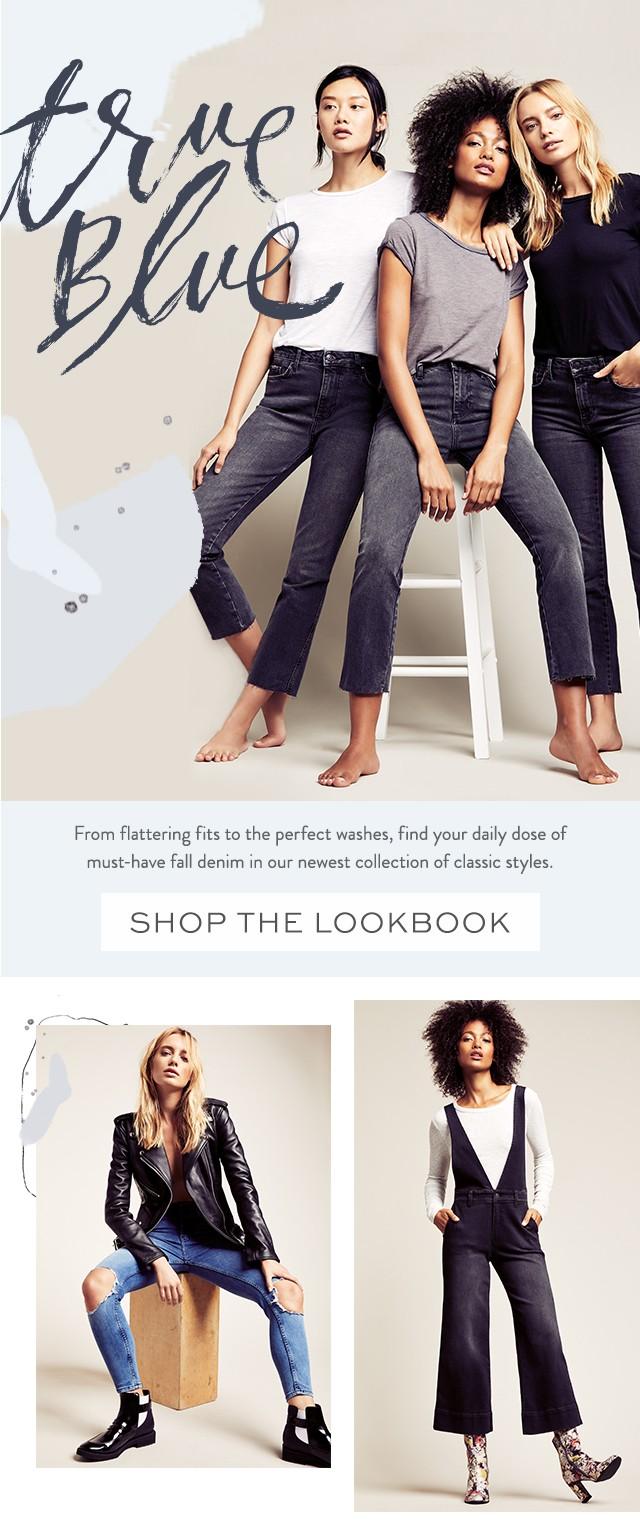 Shop the True Blue Lookbook