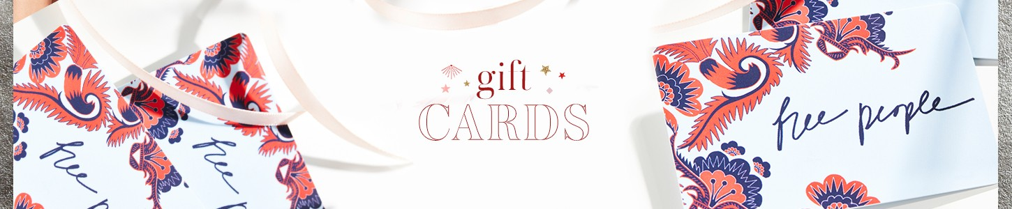 Free People Gift Shop - Gift Cards
