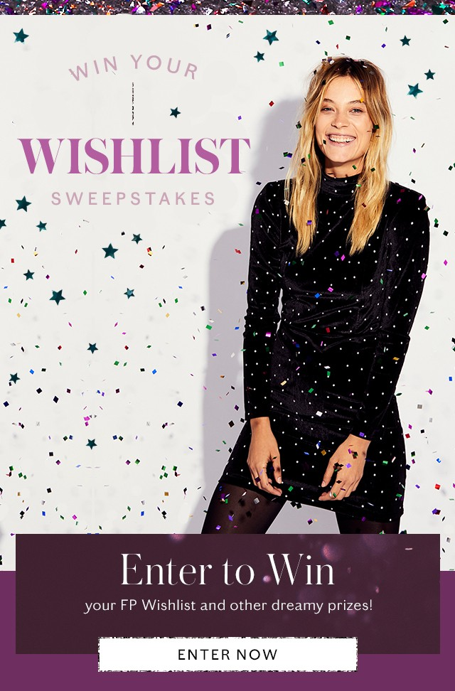 Win Your Wishlist Sweepstakes - Enter to Win
