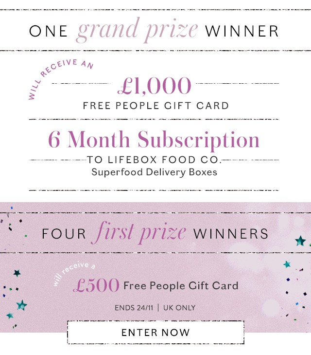 Win Your Wishlist Competition - Prize Information - Enter to Win