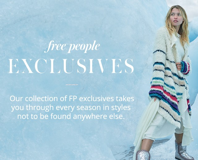 Free People Exclusive Labels Free People