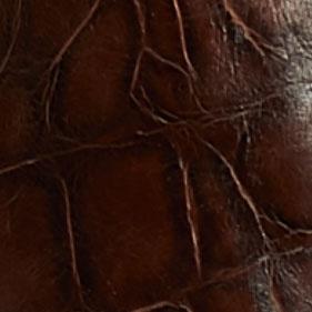 咖啡色鳄鱼纹