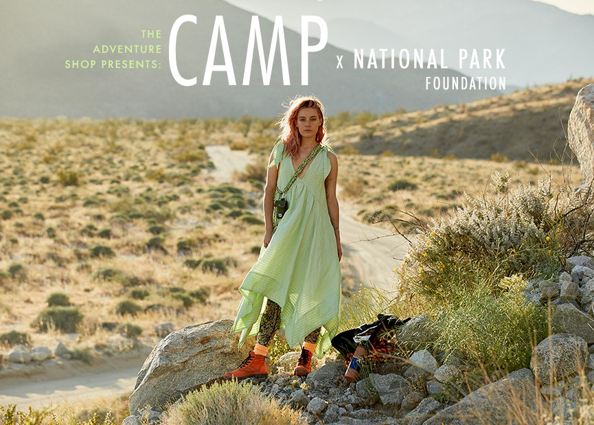 Shop All Camp x The National Park Foundation