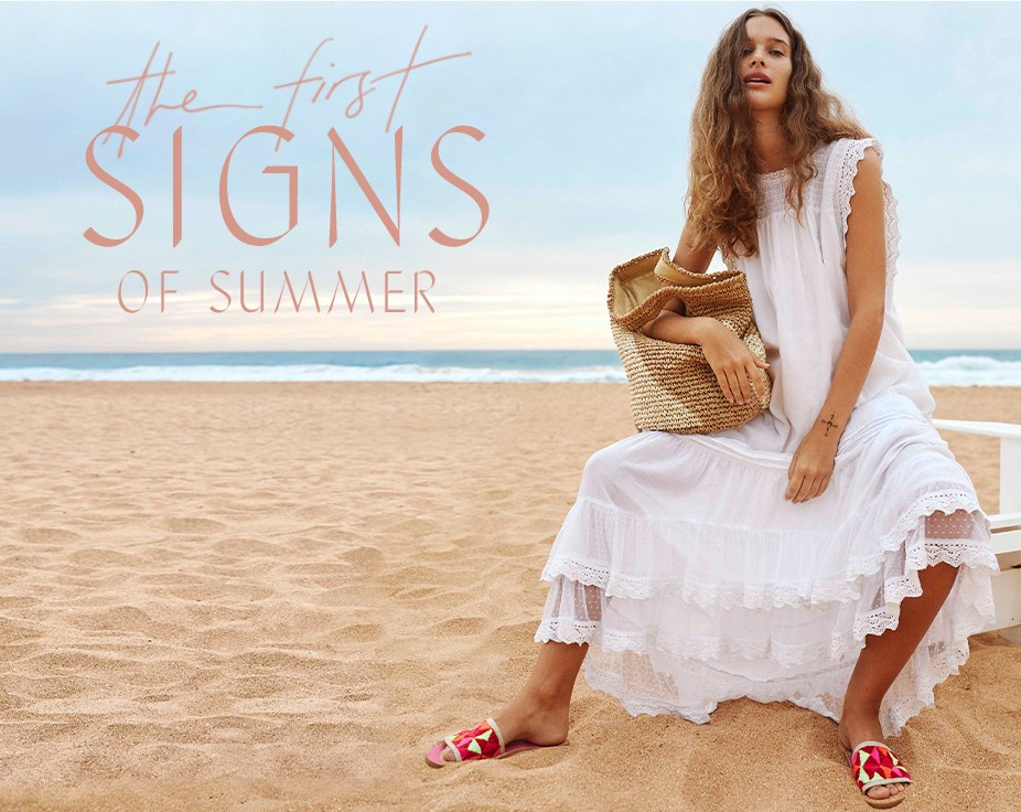 hot sales 7b81a 431d2 First Signs of Summer