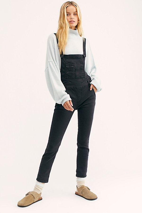Slide View 2: Washed Denim Dungarees