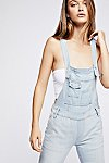 Thumbnail View 1: Washed Denim Dungarees