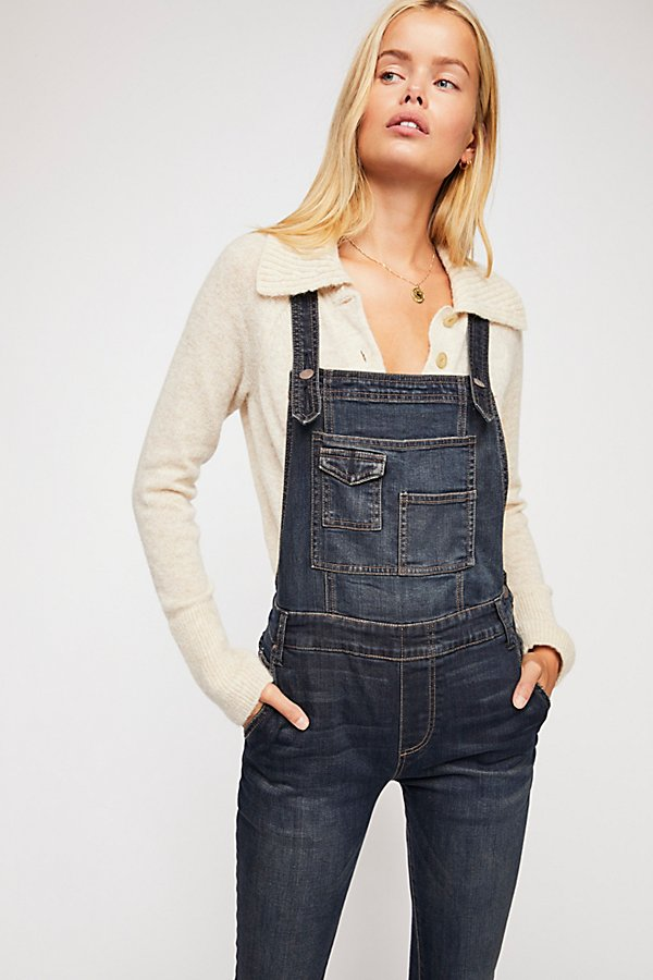 Slide View 1: Washed Denim Overall