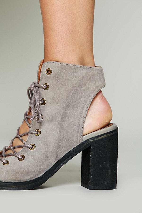 Slide View 6: Minimal Lace Up Heel