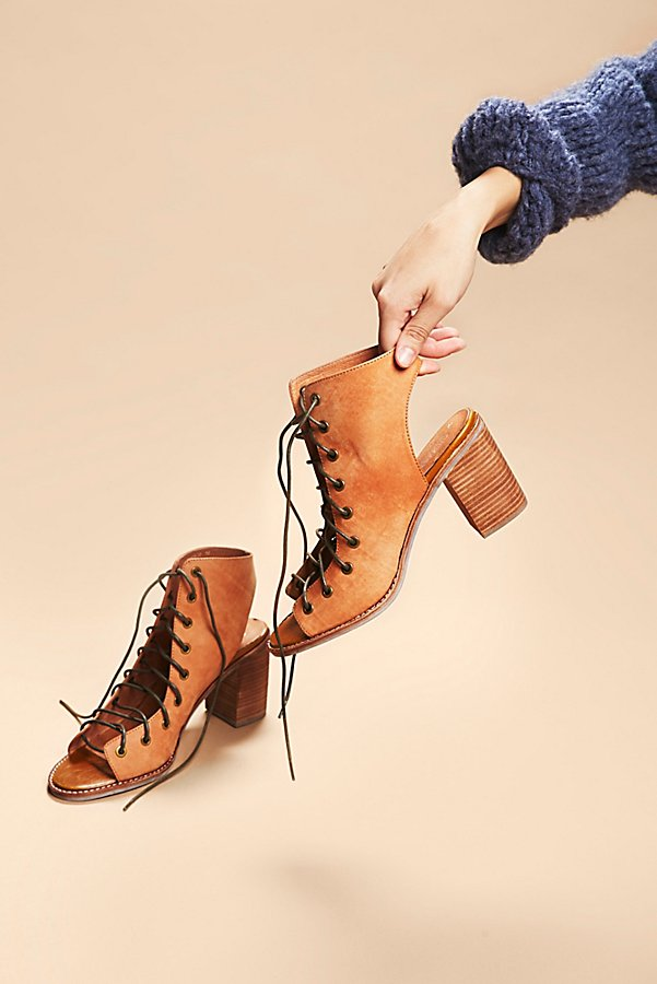 Slide View 1: Minimal Lace Up Heel
