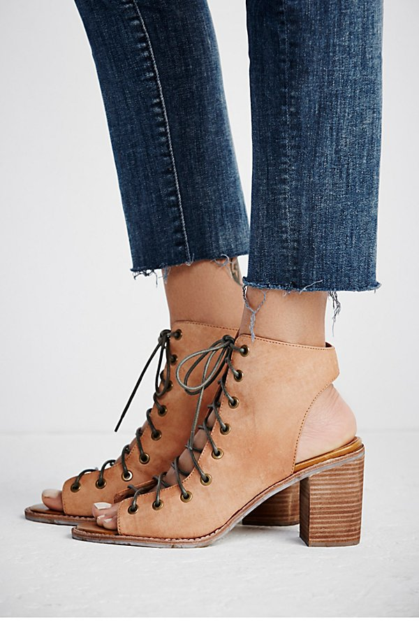 Slide View 2: Minimal Lace Up Heel